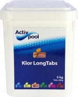 Activ Pool - Klor LongTabs, 200 g tabs / 5 kg
