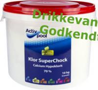 SuperChock 4 x 10 kg.